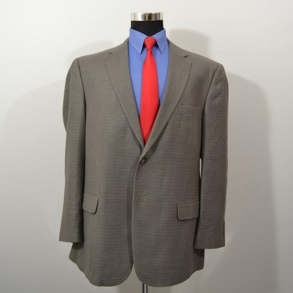 Jos. A. Bank Other - Jos A Bank 46R Sport Coat Blazer Suit Jacket Gray